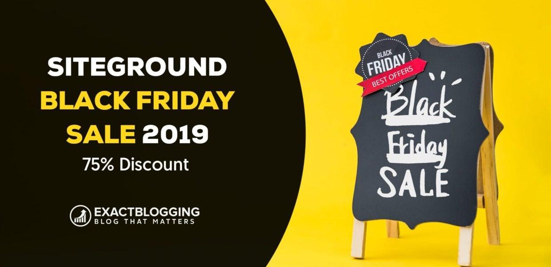 SiteGround Black Friday Deals 2019