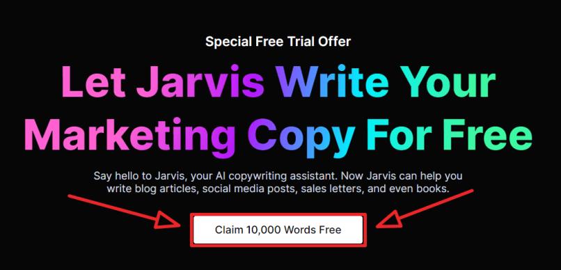 jarvis ai free trial step 1